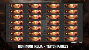 High Noon Irelia - Twitch Panels