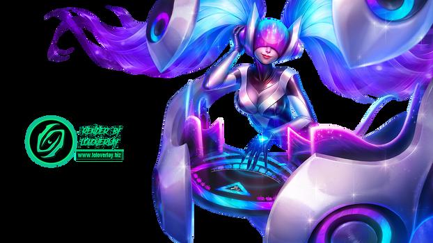 DJ Sona (Ethereal) - Render (League of Legends)