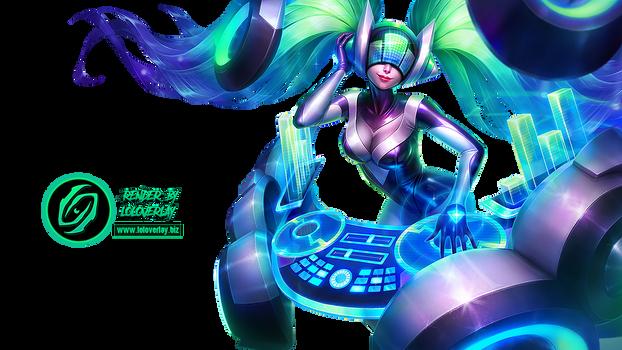 DJ Sona (Kinetic) - Render (League of Legends)