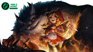 Red Riding Annie - Render (League of Legends WR)