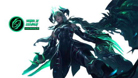 Ruined Shyvana - Render (League of Legends)