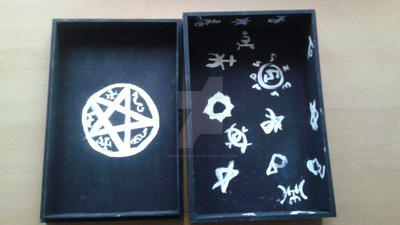 Super Natural Demon Tablet box by WillowCrystal