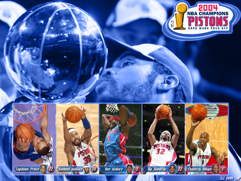 Detroit Pistons NBA Champions 2004 by LWPdesign on DeviantArt