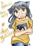 + Happy Birthday Natsuki +