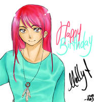 + Happy Birthday Melly + by MADxxasxaHATTER