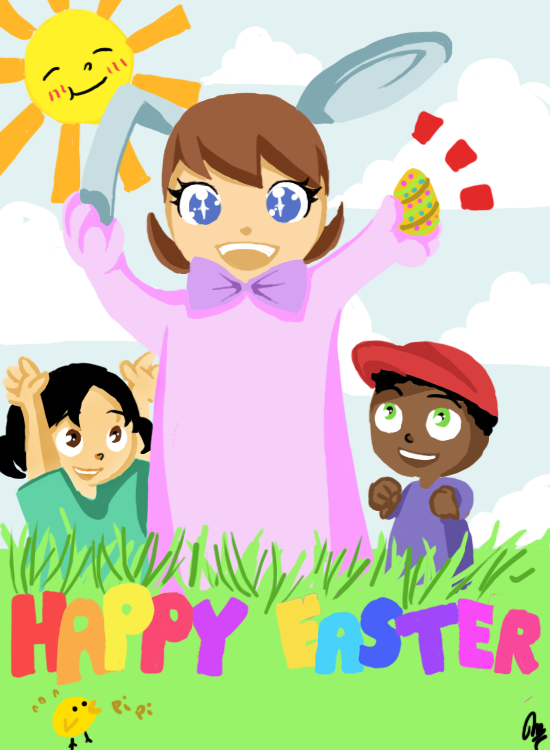 + Happy Easter + by MADxxasxaHATTER
