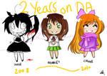 + DA - 2 years +