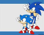 Remake of Sonic channel wallapaper 1