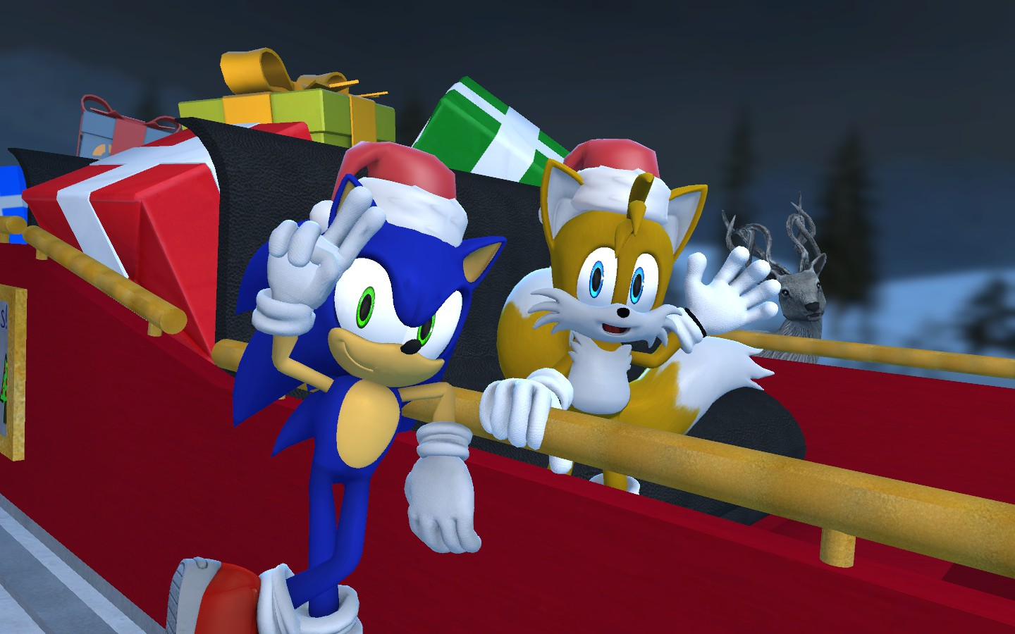Merry Christmas 2012 by sonic1993