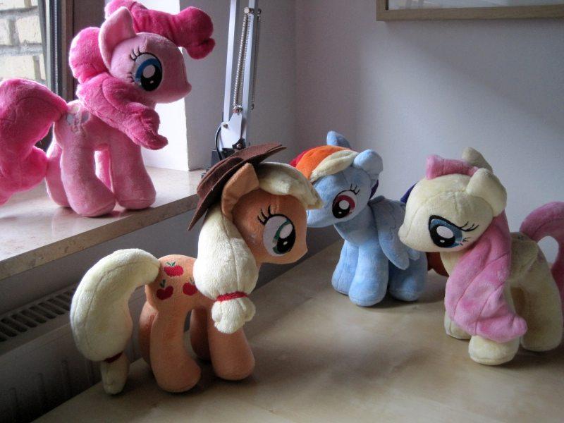 My little Pony - Mane 4 by Erdbeerprinz on DeviantArt