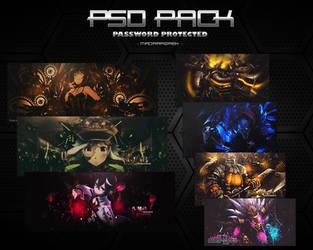 1st PSD PACK [+200Watchers] by MadaraBrek
