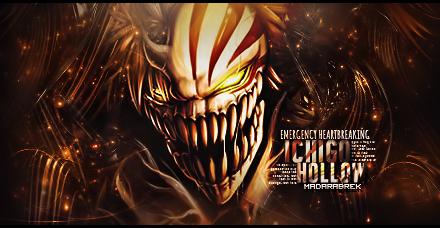 [Signature] Ichigo Hollow by MadaraBrek