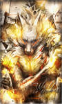 [Signature] Wolf in Flames