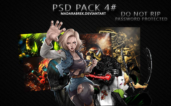 [Pack] #4 Psd and Render