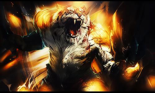 [Signature] Tigre Warrior by MadaraBrek
