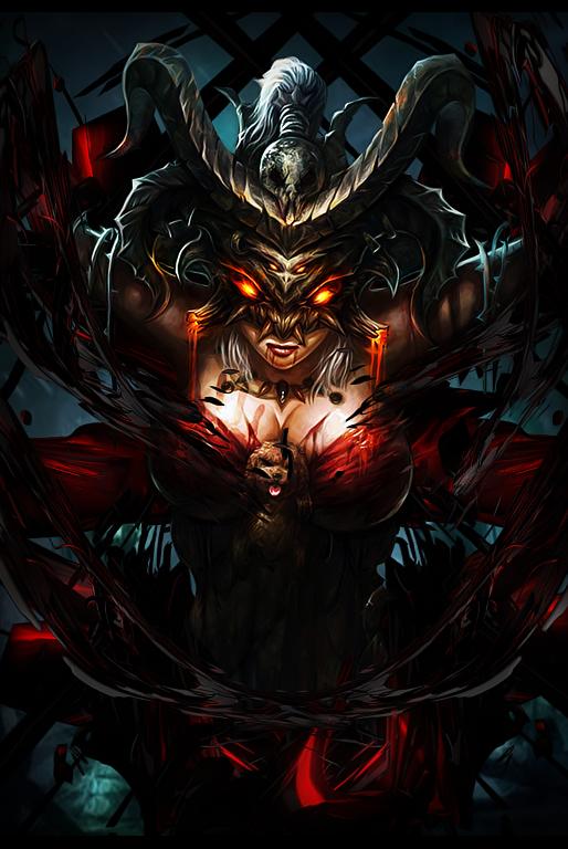 [Signature] Demon Girl by MadaraBrek