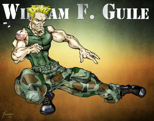 Guile  by Toadman005