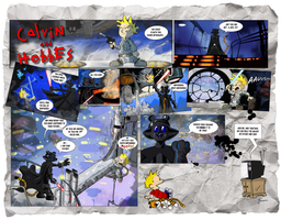 Calvin Hobbes: The Empire Strikes Back by Toadman005