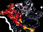 The Flash vs Venom