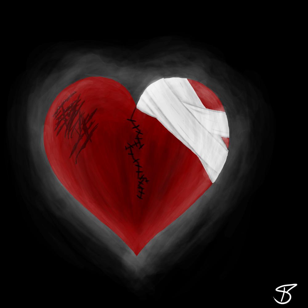 Broken heart by Ra1nbowScr4tch on DeviantArt