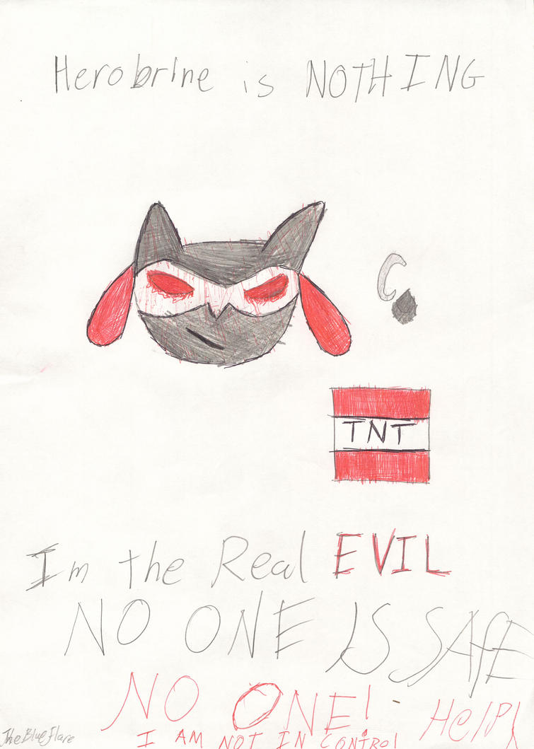 Im The Real EVIL!!! by Pikachu-Riolu-Human