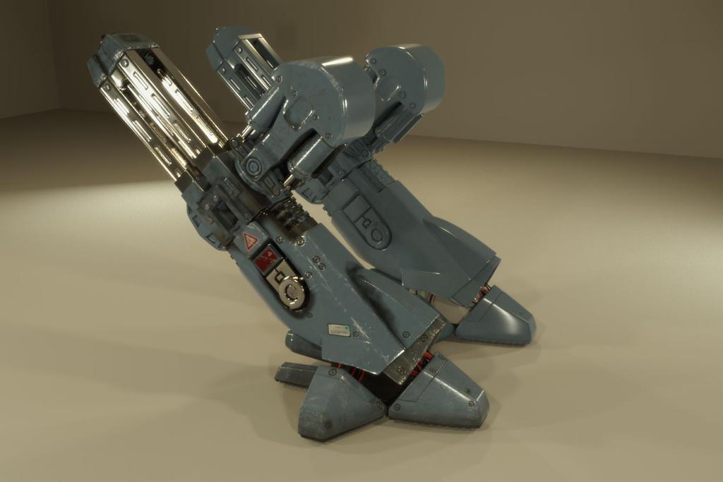 ED-209 wip 1 by Piitas