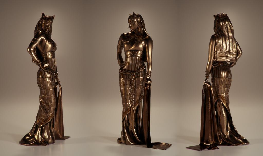 Bastet Egyptian Goddess of Protection by Piitas on DeviantArt