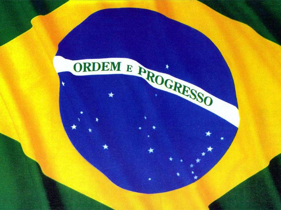 brazilian flag by dmtr1981