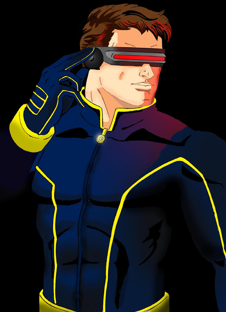 X-men cyclops by dmtr1981
