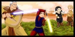Star Wars KOTOR Jedi Master Arca jeth 2