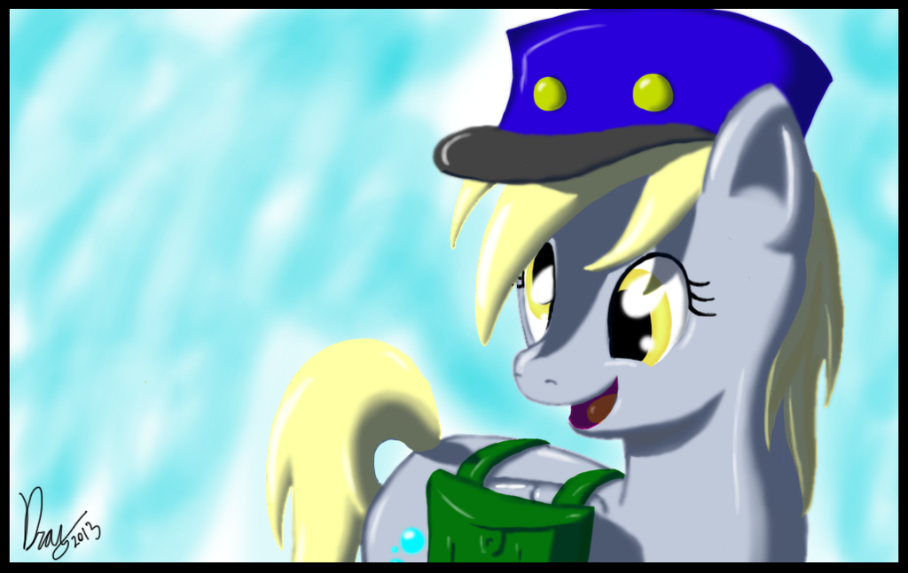 Derpy the Friendly Mailmare by DragmodNotloc