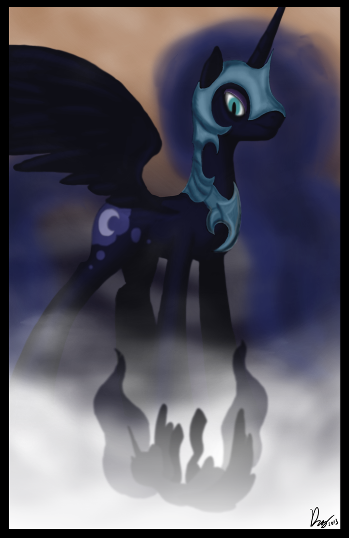 And the moon did wane by DragmodNotloc
