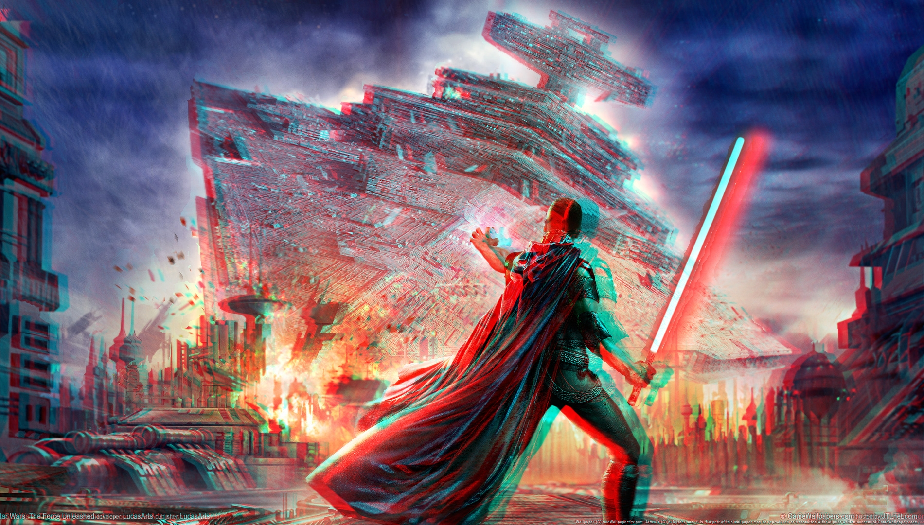 Star wars force unleashed 3d by watchall on deviantart for 3d star net