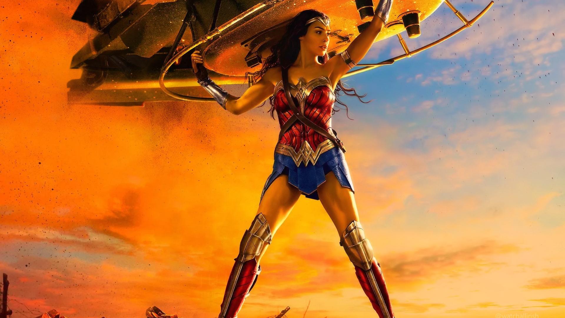 Wonder Woman By Watchall On Deviantart
