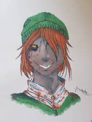 fanart brown haired link by uniiz