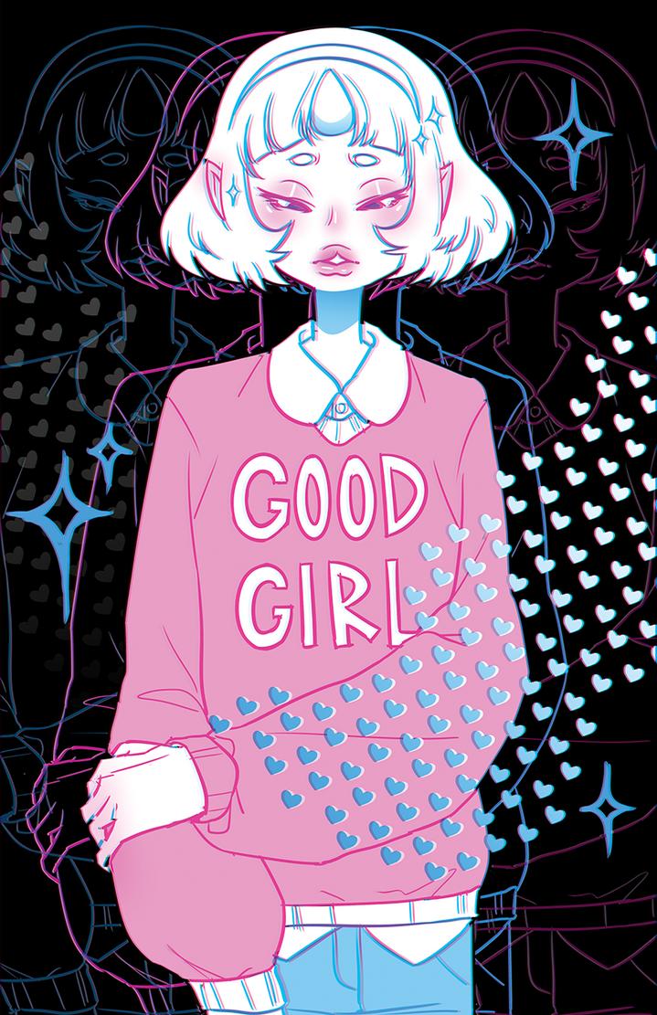 good little girl by elefluff