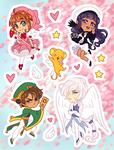 Stickers - Cardcaptor Sakura