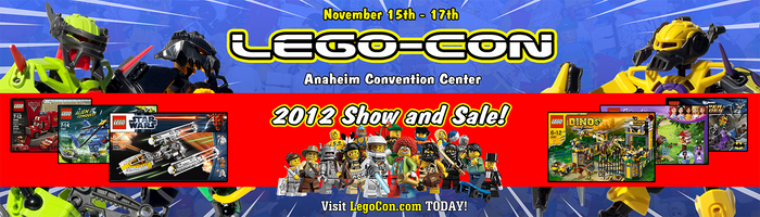 Lego Con bus poster by KRPgraphics
