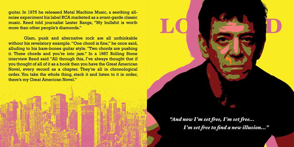 Lou Reed CD Pop-Art #4