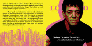 Lou Reed CD Pop-Art #4