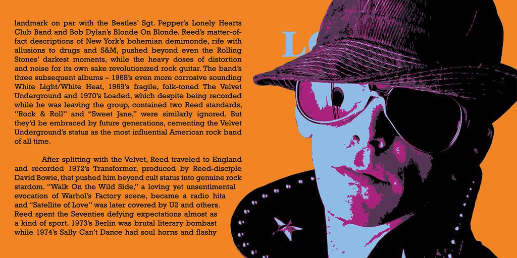 Lou Reed CD Pop-Art #3