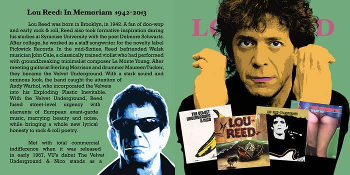 Lou Reed CD Pop-Art #2