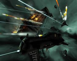 USN 'Huginn' class battleships by strangelet