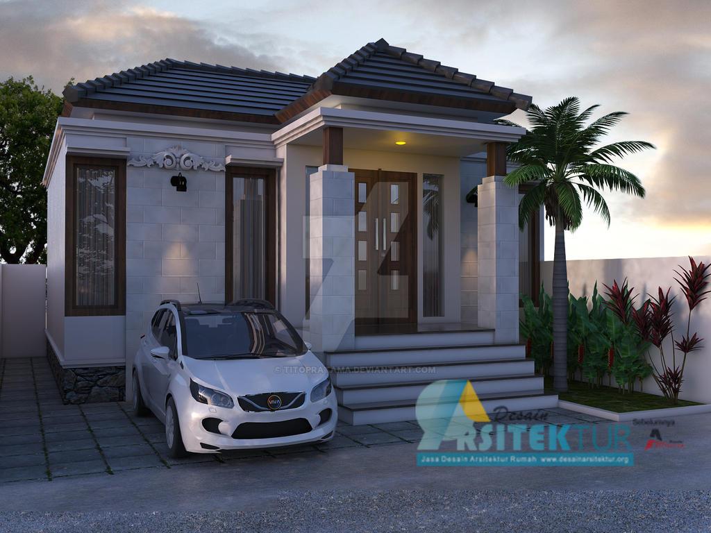 Desain Rumah Bali Modern by titopratama on DeviantArt