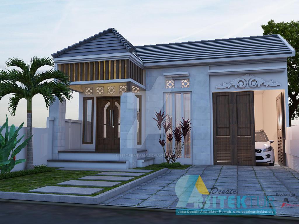 Desain  Rumah  1 Lantai Bali Modern  by titopratama on DeviantArt