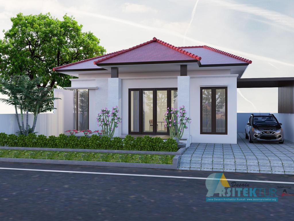 Desain Rumah 1 Lantai Bali Mewah Titopratama Deviantart