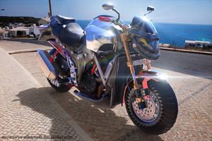 motorcycles keyshot render by muwawya-alhamadi