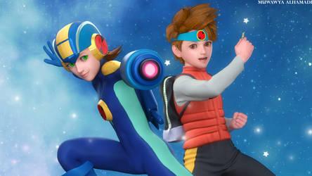 Mega Man Battle Network fan art