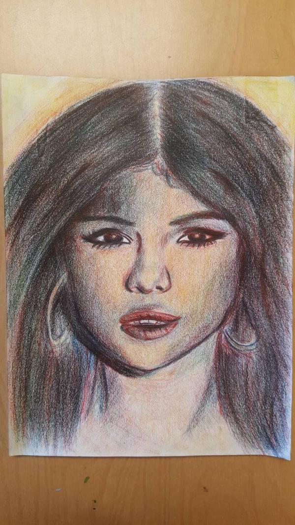 Selena gomez fanart by Evesune