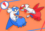 Guess what Latias is saying...
